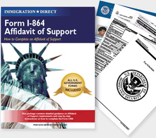 Prepare Affidavit of Support Form I-864