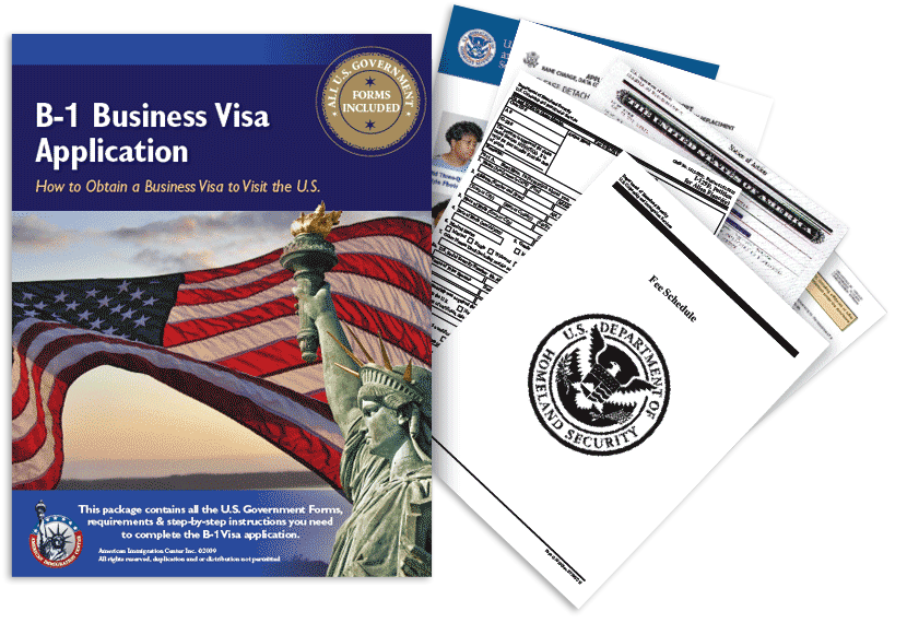 B-1 Business Visa Application Guide Package
