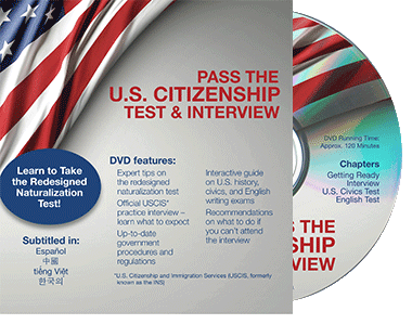 Pass the U.S. Citizenship Test and Interview DVD