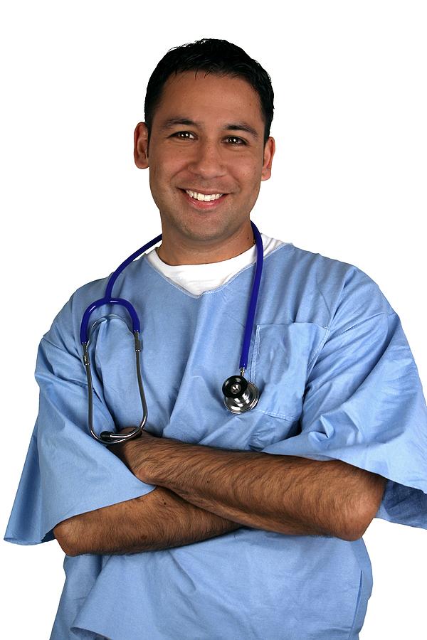 bigstock-Hispanic-medical-worker-isola-15690200
