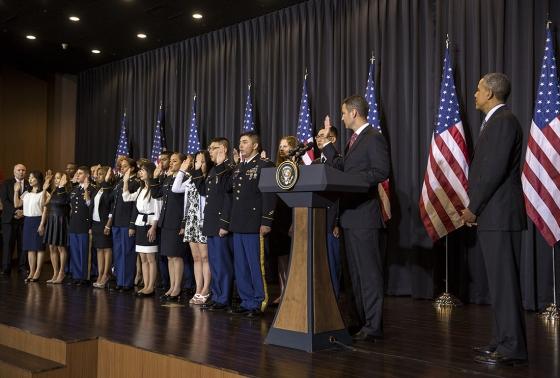 citizenship through military