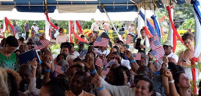Numbers Up for Naturalization
