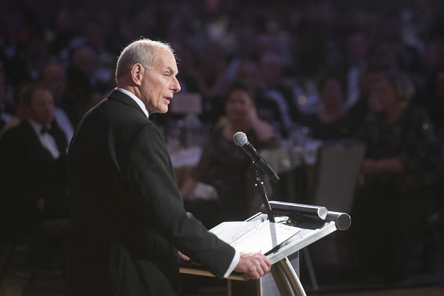 DHS Sec. Kelly Offers Immigration, Wall Comments