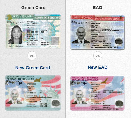 USCIS Adds Security Features to Green Cards and EADs